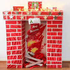 make a faux fireplace for my poppet makes