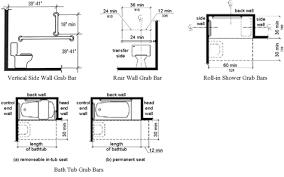 Handicap Bathroom Specs Ada Bathroom Codes Toilet For Handicapped Dimensions Minimum