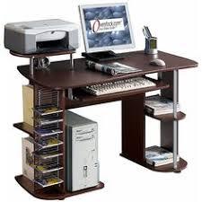 All In One Computer Desk Easy2go Corner Computer Desk Resort Cherry Red The Move