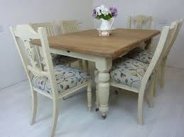 vintage table and chairs victorian wind out dining table and 6 antique chairs painted vintage