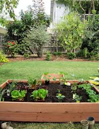 How To Make A Raised Bed Vegetable Garden - at home at home diy raised bed vegetable garden