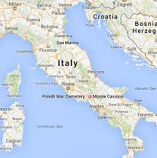 Italy On World Map by