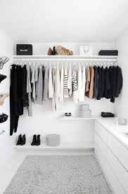 best 25 black white rooms ideas only on pinterest black white this closet is stunning i love how minimal it is in color in clothes and in design i want a closet like this one in my future dream home