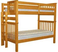 Twin Over Twin Bunk Beds Reviews Comparisons Small Space Project - Twin bunk bed dimensions