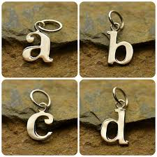 necklace with letter charms images Best letter charms for bracelets photos 2017 blue maize png