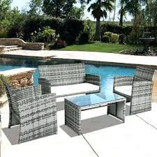 garden patio furniture set grey cheap garden patio furniture sets