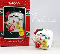 enesco holiday freezer teaser treasury of christmas ornament mouse