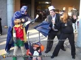 Penguin Halloween Costumes Coolest Homemade Batman Robin Catwoman Penguin Halloween