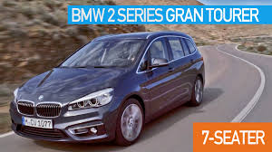 mpv car 7 seater 2015 bmw 2 series gran tourer 7 seater youtube