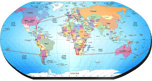 where is on the map where is australia on the map