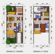 Disain Mini Denah Gambar Disain Rumah Lantai Mini Minimalis Berbagai