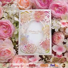 Butterfly Invitations Aliexpress Com Buy European Lace Hollow Gliding Gold Pink