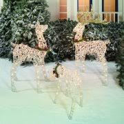 Outside Decorations For Christmas Walmart by Christmas Outdoor Decorations Walmart Com