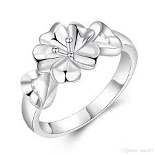 finger ring designs for 2017 2016 new design flower jewelry silver rings for women silver