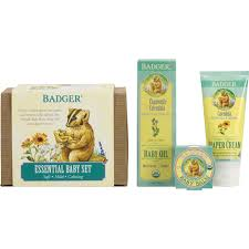 baby gift sets essential baby gift set badger balm