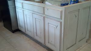 Kitchen Cabinets Painted White by Adkisson U0027s Cabinets White Painted And Distressed Knotty Alder