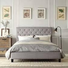 upholstered headboard queen bed foter