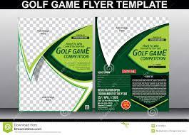 inspirational golf tournament brochure template pikpaknews