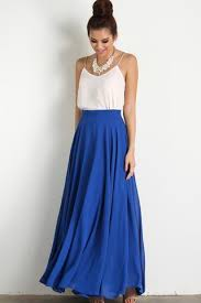 maxi skirt amelia blue maxi skirt morning lavender