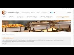 how to set a buffet table with chafing dishes chafing dish and buffet sets for catering youtube
