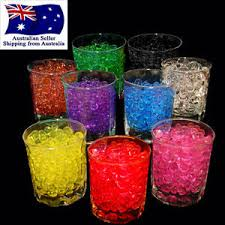 Vase Fillers Balls 10g Crystal Soil Water Pearls Jelly Balls Beads Wedding Decoration