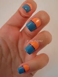 i feel polished easy striping tape nails