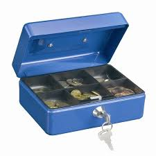 money box box size 1 pro blue money box
