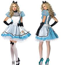 Alice In Wonderland Costume Forever Young Tea Time Alice In Wonderland Fancy Dress Costume