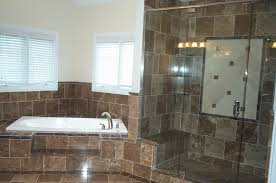 bathroom designs for small spaces with glass space wall tile theme