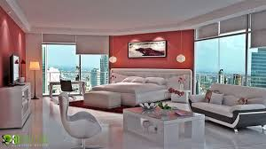 a realistic residential d rendering to present living room design