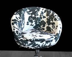 Faux Cowhide Chair Cowhide Chair Etsy