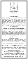 Kitchen Manager Re Sous Chef Front Of House Duty Manager Kitchenhand Jobfix