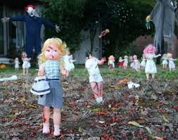 Scary Halloween Decorations Diy by Spooky Halloween Yard Decorations Outdoor Halloween Displays Diy