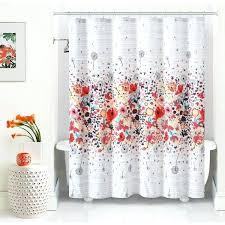 Unique Fabric Shower Curtains Shower Curtains Floral Excellent Colourful Unique Fabric