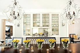 Crystal Vases For Centerpieces Dining Table Fake Flowers For Dining Room Table Centerpieces