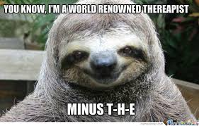 Sloth Rape Meme - rape sloth back in action by recyclebin meme center