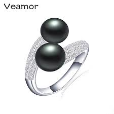 pearl engagement rings compare prices on black pearl engagement rings online shopping