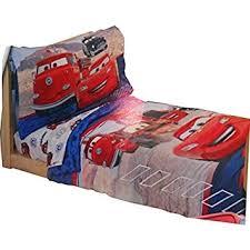 disney cars bedding set amazon com disney pixar cars 4 piece toddler bedding set baby
