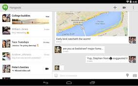 hangouts app for android cult of android hangouts update brings sms importing