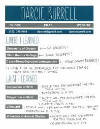 Resume For Lifeguard Resume U2014 Darcie Burrell