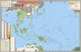 Asia Map Games by Gmt Games Empire Of The Sun