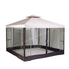 15 X 15 Metal Gazebo by Gazebo Replacement Canopy Top And Replacement Tops Garden Winds
