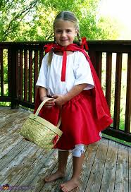 little red riding hood halloween costume photo 2 3