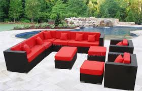 awesome sectional sofa patio furniture brienne dining set with