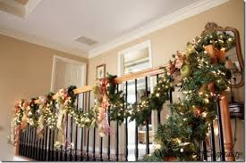 garland staircase princess decor