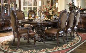 furniture charming cream dining table set by aico furniture on