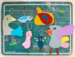 paper bird ornaments things to make and do crafts and