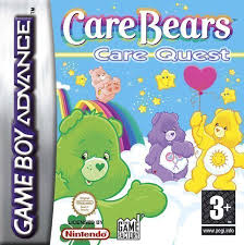 care bears care quests gameboy advance gba rom download