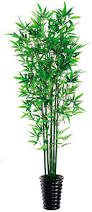 wholesale artificial plastic bamboo lucky bamboo tree leaves