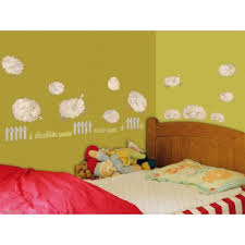 stickers mouton chambre bébé sticker chambre bébé dé la vie